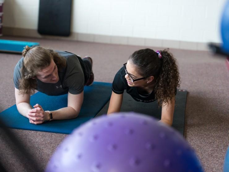 Olson Forum | Fitness Center | Workout Balcony | Concordia