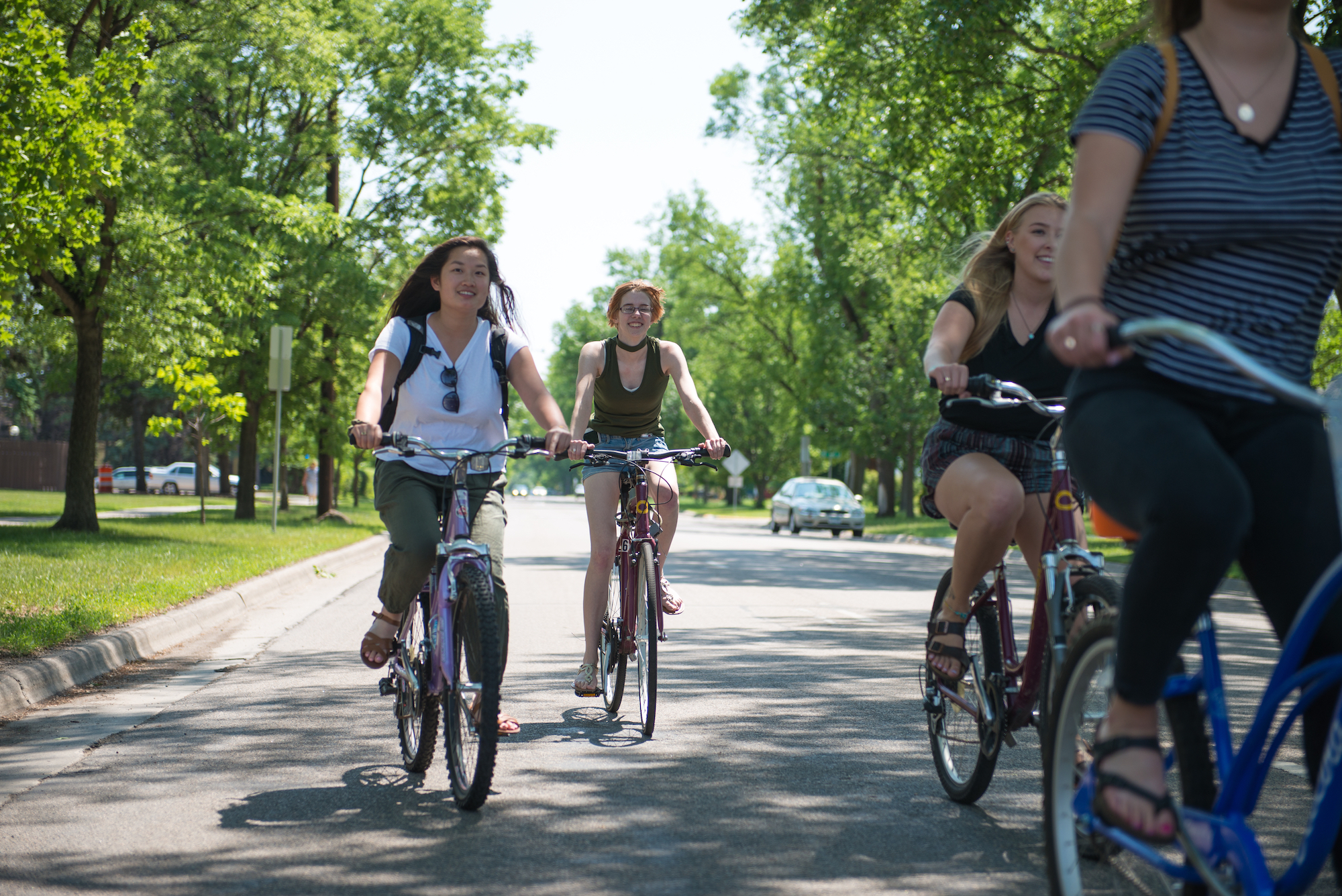 Friends Bike Together