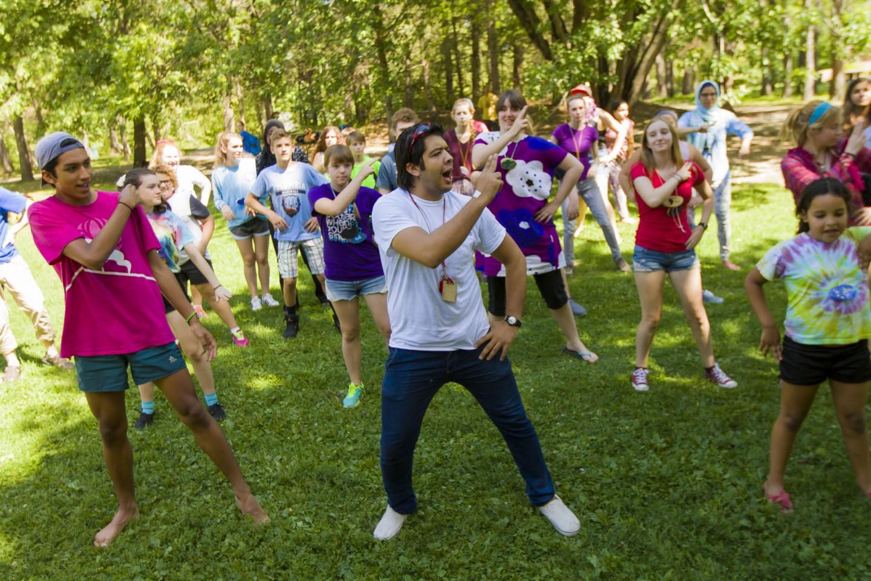 Dancing at Concordia Language Villages