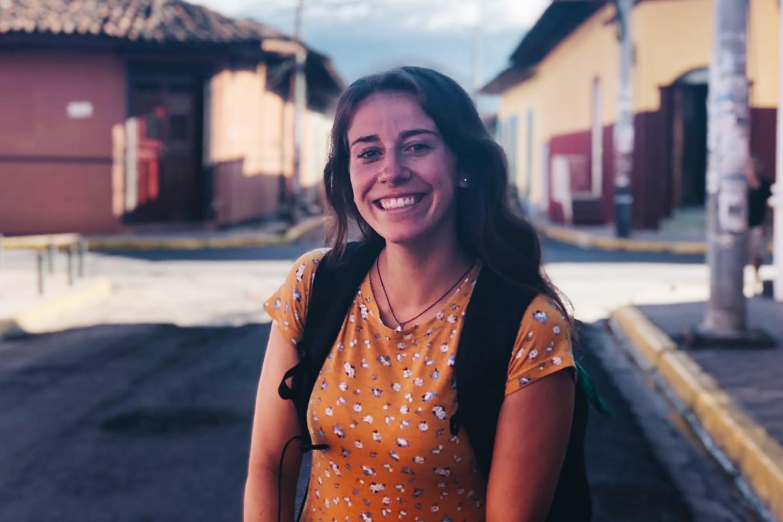Rachel Osmundson on street