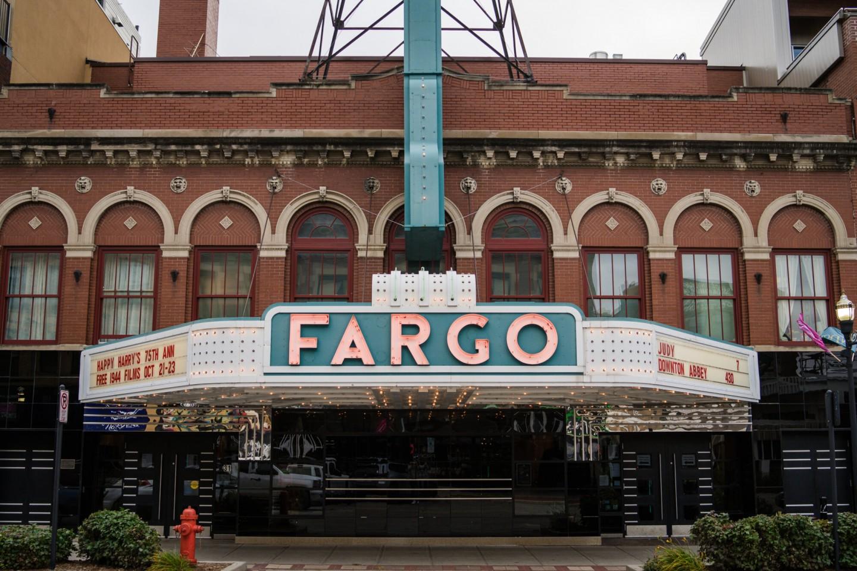 Fargo Theatre Sign