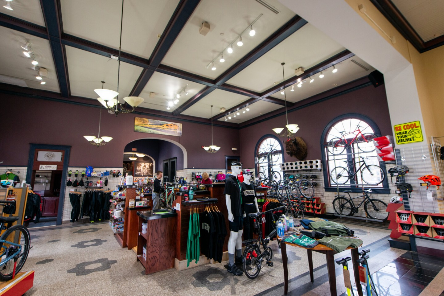 Great Northern Bicycle Company Interior