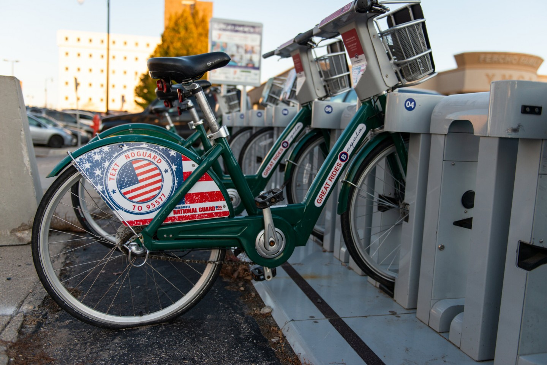 Bike Share rack