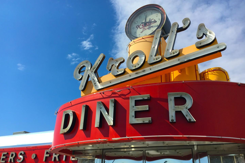 Krolls Diner sign