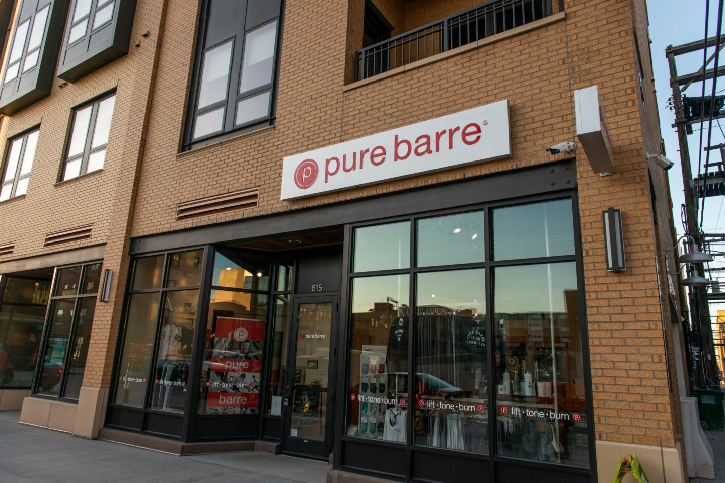 Pure Barre studio