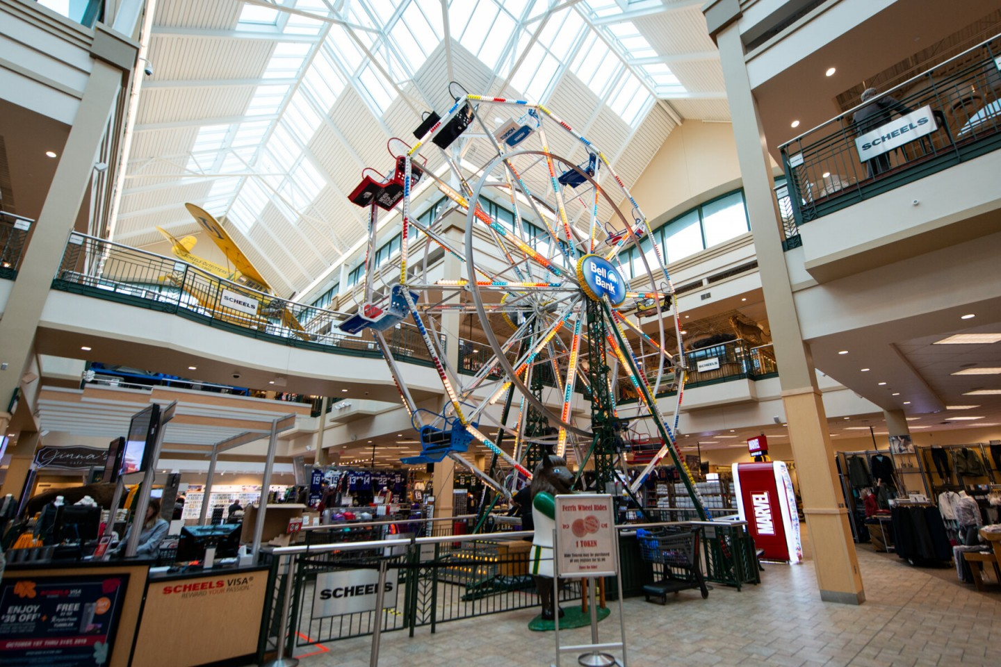 Fargo Scheels Indoor Ferris Wheel
