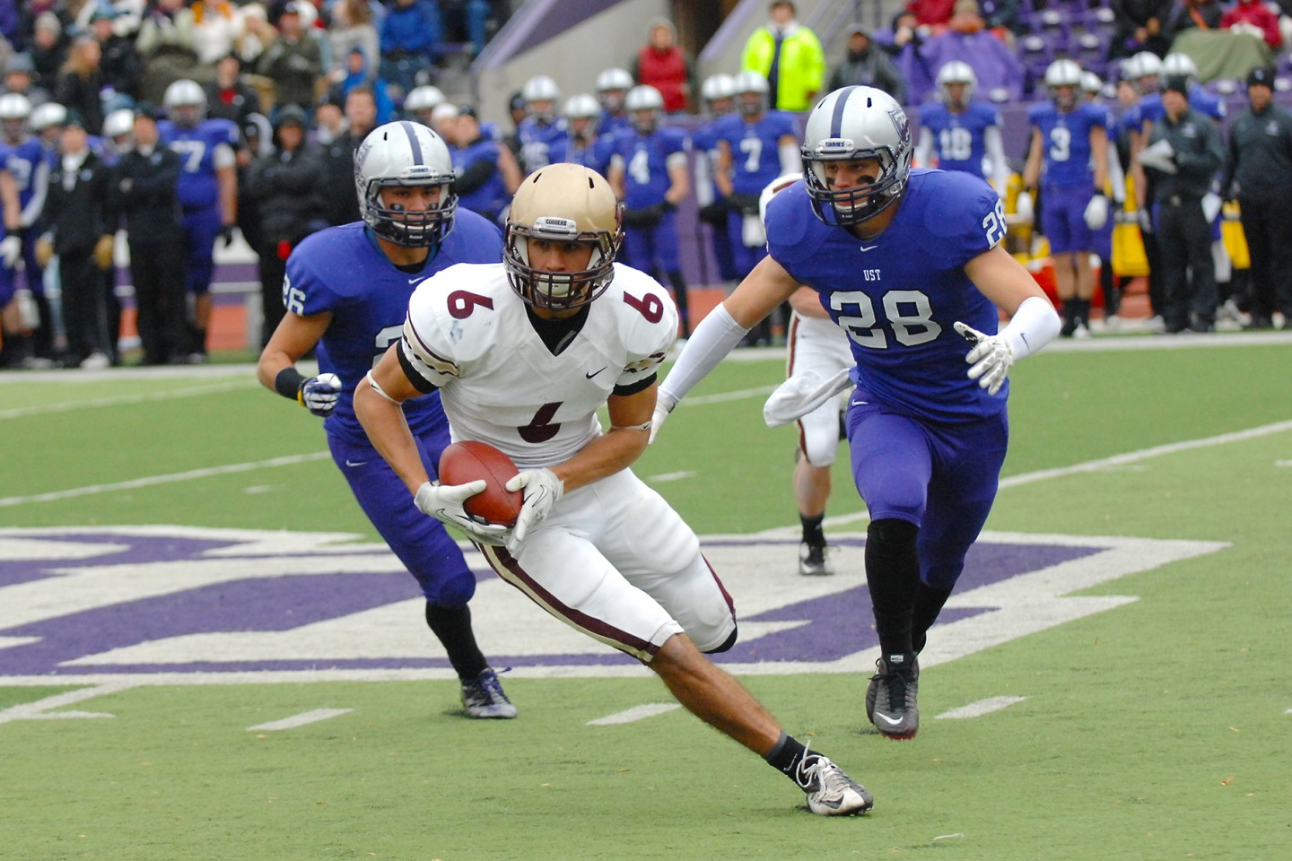 Zylstra in Cobber Football game
