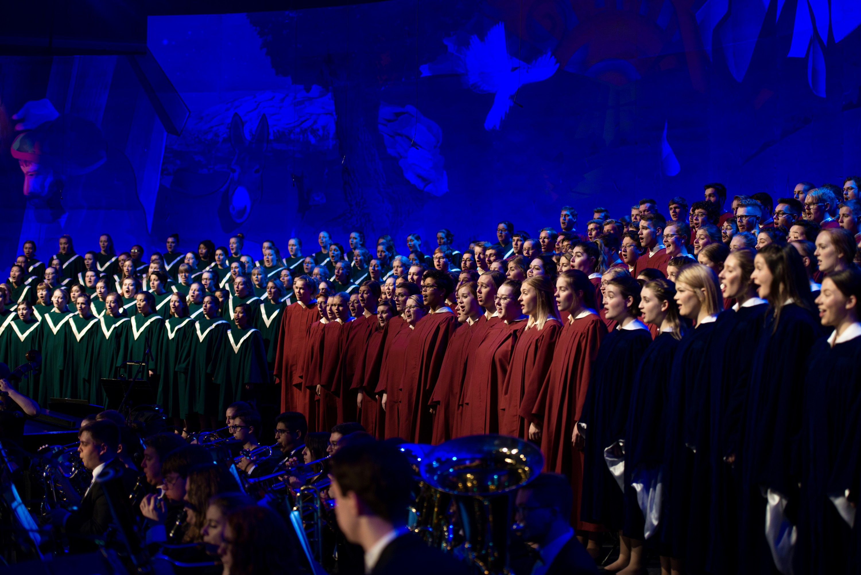 Behind the Scenes of the Concordia Christmas Concert | Concordia