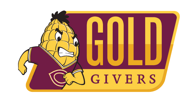 Gold Givers Society Logo with Kernel