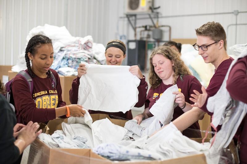 Team Volunteering Towels