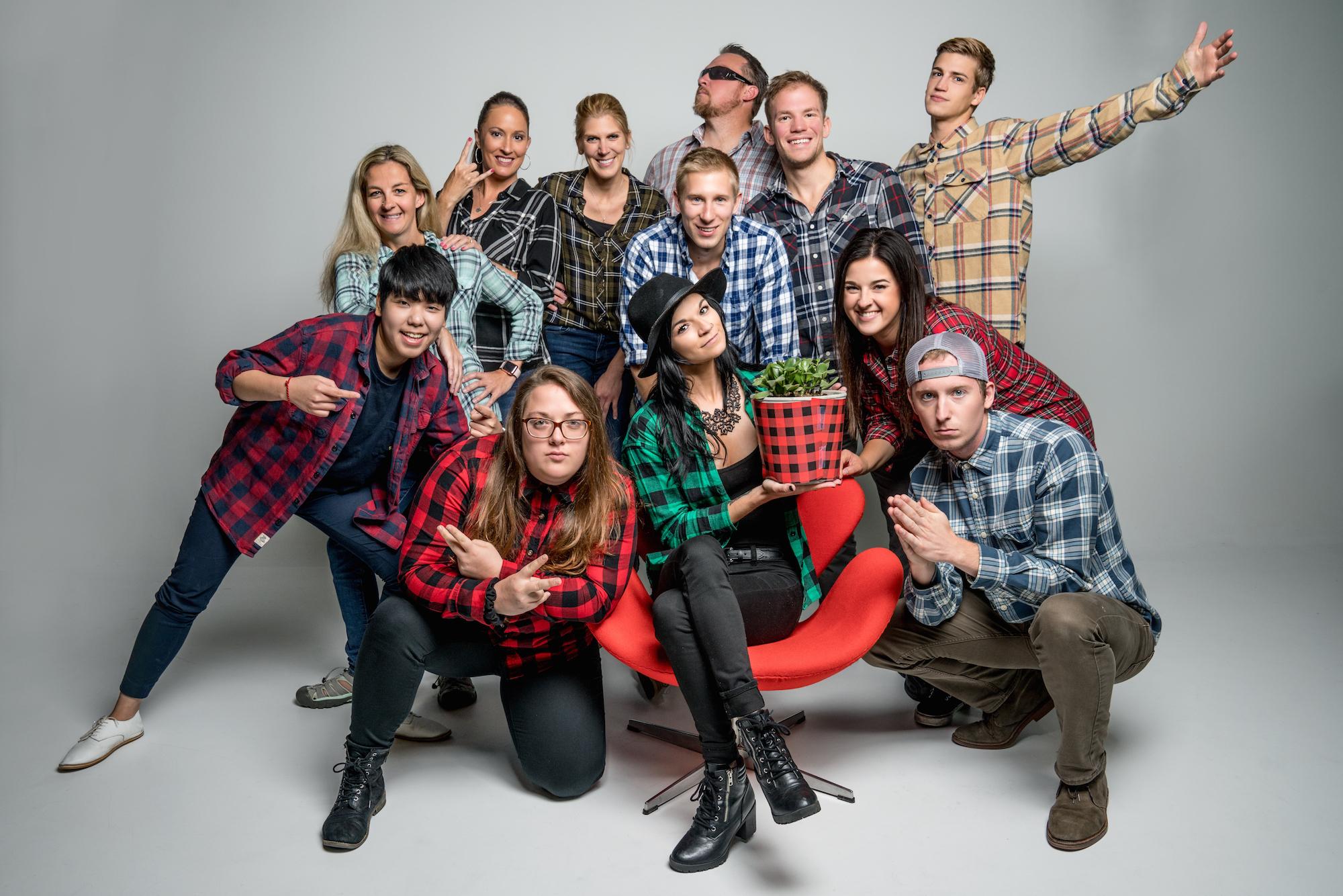 Spotlight Media team in 2017. Photo courtesy of Spotlight Media.